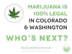 Legal in Colorado and Washington State