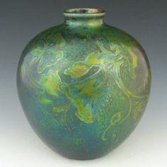 """Weller Sicard 7"""" Bulbous Vase"""