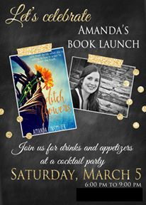 Book launch party invitations