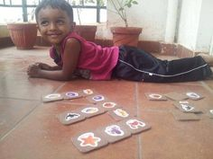 Aadhav in all #smiles with his #Flintobox creation.