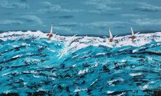 Buy Deep Ocean, Acrylic painting by Cathy Maiorano on Artfinder. Discover thousands of other original paintings, prints, sculptures and photography from independent artists. Abstract Styles, Acrylic Painting Canvas, Lovers Art, Impressionist, Buy Art, Original Paintings, Sculptures, How Are You Feeling, Things To Come