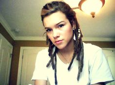 #dreadlocks this would be me cause I have so little hair!
