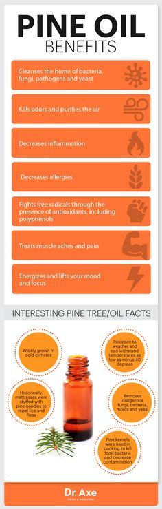 Pine oil uses infographic - Dr. Axe http://www.draxe.com #health #holistic #natural
