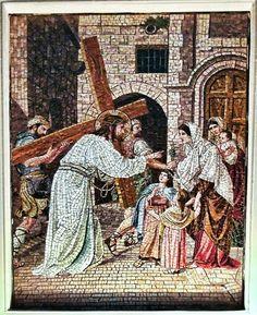 Jesus carring the Cross