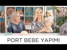 ✿ ❤ Yün Port Bebe Nasıl Yapılır | Derya Baykal