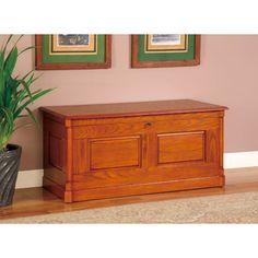 Wilsonville 1 Drawer Solid Wood Cedar Chest