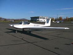 28 February 1981 first flight #flighttest of the Valentin Taifun motorglider