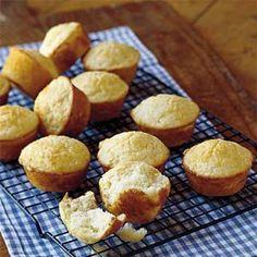 Parmesan Cheese Muffins Recipe | MyRecipes.com