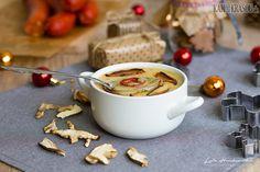 Vianočná hríbová polievka