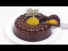 Puding Coklat Lapis Jeruk untuk Ulang Tahun (2 Lapis) - YouTube Birthday Cake, Desserts, Food, Tailgate Desserts, Deserts, Birthday Cakes, Essen, Postres, Meals