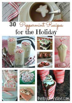 Peppermint Dessert Recipes, Christmas Cookies, Mint Recipes
