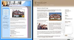 Westcliff Website, before and after. Identity design.