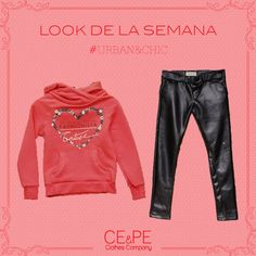 Campera con leggins tipo cuero #outfit #kids #teens #fashionkids #kidsclothing #indumentaria #coolkids . CE&PE Clothes Company