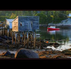 Maine Lobster Boat Sunrise by Greg from Maine, via Flickr