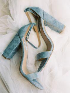 velvet heels from Whooping Crane Farm Wedding inspiration http://www.trendybride.net/whooping-crane-farm-wedding/