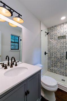 Bathroom upgrades make all the difference! #renovationspot . . . . . #discoveratl #atlantahomebuilder #atlantahomerenovations #homerenovations #interiorrenovation #supportlocal #homeinspo #renovations #exteriorrenovation #atlantahomes Small Bathroom, Bathrooms, Atlanta Homes, Bathroom Renovations, Mirror, Relax, Furniture, Amp, Home Decor
