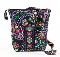 Bella Taylor Carnevale Hipster Quilted Cotton Cross Body Bag