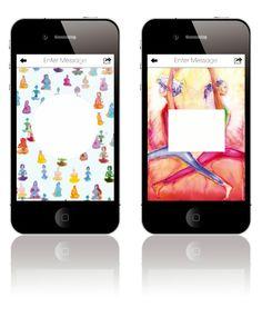 Card Lust Yoga Cards App via Wee Birdy.