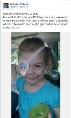 KFC employee allegedly asks little girl to leave Jackson restaurant....This is INSANE!!  I don't eat at KFC anyway but everyone should boycott those !$!$!$*)!