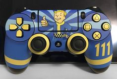 Fallout 4 controller dual shock skin custom
