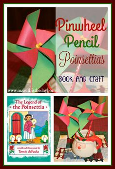 makethistheday.com.  A beautiful story about the legend of the poinsettia and a fun pinwheel pencil craft to go along with it!