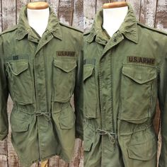 Vintage Military Field Jacket / Vintage Army by ILoveLooLooVintage