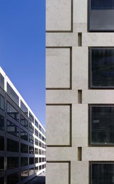 Image 11 of 43 from gallery of Europaallee Zurich / Max Dudler Architekt. Photograph by Stefan Müller