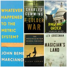 There's magic, math, nukes, and pooches in this week's #NewReleaseTuesday line up.