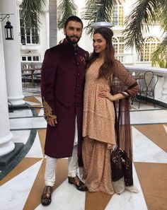 "madhuridixitfc: "" The photo of the day is Deepika Padukona & Ranveer Singh for Bajirao Mastani Promotions . """