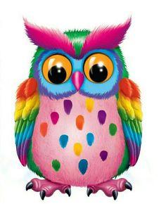 OWL (F) cross stitch kit Owl Wallpaper, Cellphone Wallpaper, Lisa Frank Stickers, Cute Christmas Wallpaper, Owl Pictures, Owl Pics, Rainbow Art, 5d Diamond Painting, Owl Art
