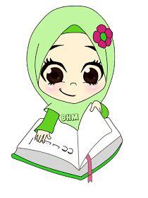 MUSLIM Doodle Girl, Islamic Cartoon, Mickey Mouse Wallpaper, Islam For Kids, Anime Muslim, Hijab Cartoon, Islamic Girl, Cartoon Sketches, Borders For Paper
