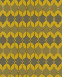 Selin Saffron Yellow/Charcoal Grey från Akin & Suri