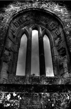 Chapel Window, Bodiam Castle, East Sussex.