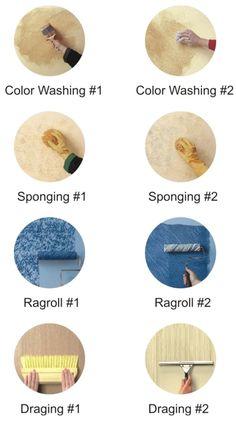 Ide Kreatif: mengubah tampilan cat tembok seperti wallpaper... ~ SCI