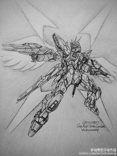 GUNDAM GUY: Awesome Gundam Sketches by VickiDrawing [Updated 11/23/15]
