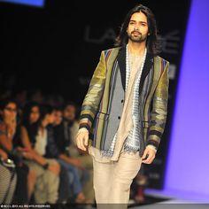 Amit Ranjan showcases a creation by fashion designer Gaurav Jai Gupta @ Lakme Fashion Week (LFW) Summer Resort 2013