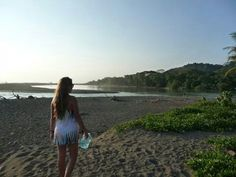 Forest + river + Beach + surf= Dominical <3