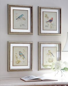 Four Songbird Prints at Horchow.