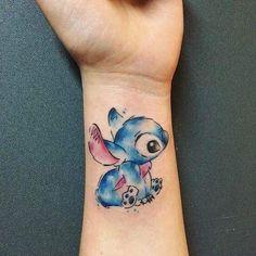 Disney Tattoo - Photo gallery of tattoos by Karine Munoz tattoo artist at the tattoo studio bordeaux tattoo art studio - 2017 trend Disney Tattoo – Photo gallery of tattoos by Karine Munoz tattoo artist at the tattoo s - Disney Stitch Tattoo, Disney Stich, Tattoo Disney, Disney Tattoo Sleeves, Mini Tattoos, Body Art Tattoos, Small Tattoos, Sleeve Tattoos, Tattoo Studio