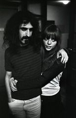 Frank Zappa and wife 1966