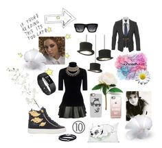 """What would beyoncé do?"" by afonsoemama-de-almeida ❤ liked on Polyvore featuring Mairi Mcdonald, Theory, Phillip Gavriel, Fitbit, Giuseppe Zanotti, Casetify, One Bella Casa, Vivienne Westwood, CÉLINE and OKA"