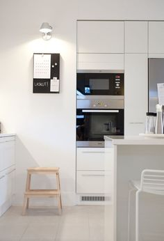 Columna de horno y microondas - 8 Ideas que podemos robar de las mejores cocinas pequeñas