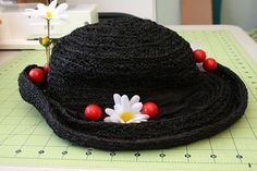 Mary Poppins Hat (DIY instructions)