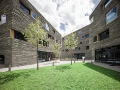 Completed in 2015 in Laax, SwitzerlandThe hotel complex, comprises eight buildings which are phenomenally randomly placed on the plot. Nevertheless, this group of cubes forms a small...