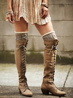 Free People Joe Lace Up Boot