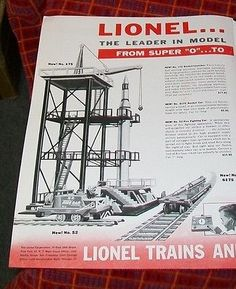 Lionel trains #advertisement. toys & novelties #magazine #march 1958,  View more on the LINK: 	http://www.zeppy.io/product/gb/2/291784691531/