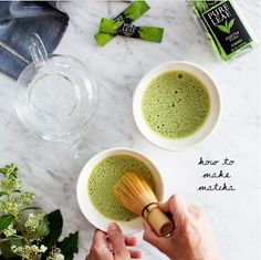 We love matcha! See how I make brand new Home Brewed Matcha Teas, … – All Pictures Matcha Smoothie, Smoothie Bowl, Smoothies, Paleo Recipes, Whole Food Recipes, Brunch Recipes, Drink Recipes, How To Make Matcha, Matcha Dessert
