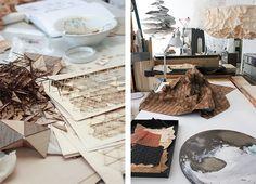 Elisa Strozky, téxtiles en madera | tránsito inicial