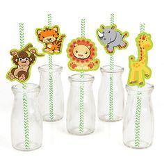 Funfari - Fun Safari Jungle - Baby Shower Theme | BigDotOfHappiness.com