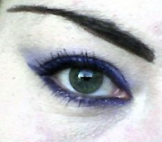 Love Purple Eyeliner!